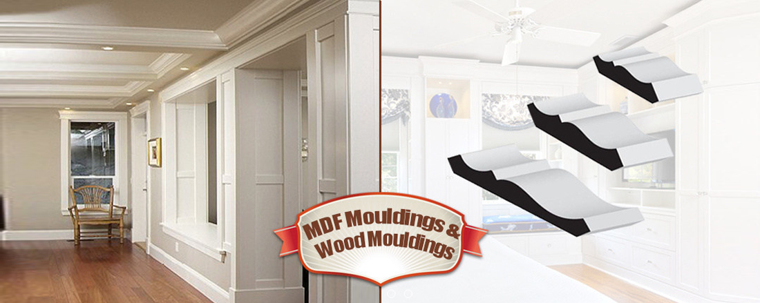 Wood Crown Moulding